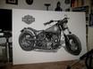 Harley Davidson - 220 x 145 cm