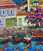 Montenegros im Freien Quay von Stoliv Skizze