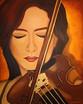 Violinenspielerin